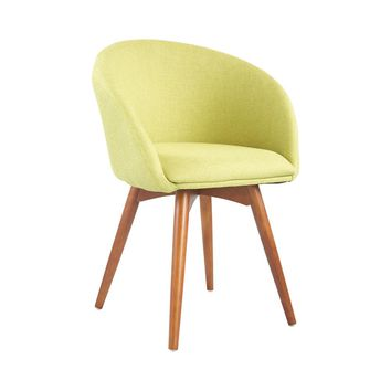 Semele Chair With Walnut Legs