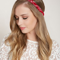 Paisley Print Headwrap | Forever 21 - 1000203030