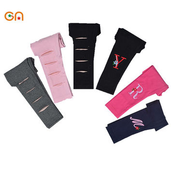 Free shipping Spring/Summer New Kids Toddlers Warm Leggings Baby Kid Girl Cotton trousers children Casual pants 2-6 years CN