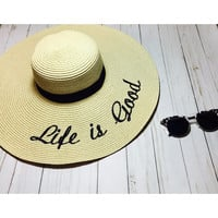 Life is good sun hat!!