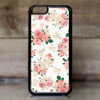 Pink Carnation Floral Case for Apple iPhone 6