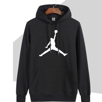 Kalete Nike Jordan Fashion Women Men Trending Hoodie Print Sport Casual Top Sweater I