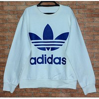 """Adidas"" Round Neck Top Pullover Sweater Sweatshirt"