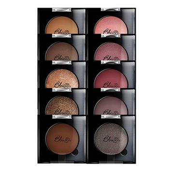 BBIA Plush Shadow 2.2g 10 Color Eye Shadow Powder Eyeshadow Shimmer Matte Beauty Makeup Long lasting Eye Shadow Korean Cosmetics