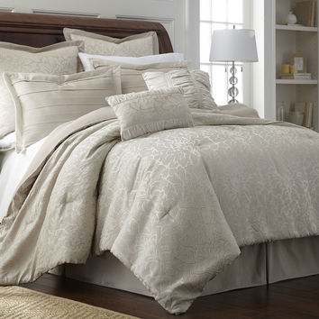 Colonial Textiles Samantha 8 Piece Comforter Set & Reviews | Wayfair