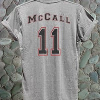 McCall Shirt Mc Call Tshirt McCall Beacon Hills Shirt Teen Wolf Shirt MT-Lahey14|A McCall Shirt Gray White Color Adult Unisex