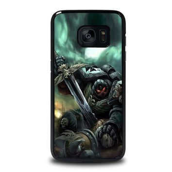 warhammer black templar samsung galaxy s7 edge case cover  number 1