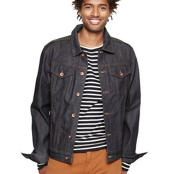 Gap Men 1969 Japanese Selvedge Denim Jacket
