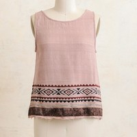 Sparkle In Pink Embroidered Top