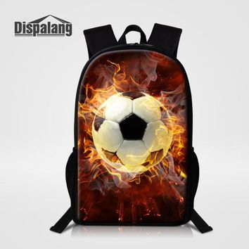 Student Backpack Children Dispalang Softballs Gloves Print Kids School Book Bag Men Campus Rucksack Soccers Primary Students Backpack Travel Daily Bagpack AT_49_3