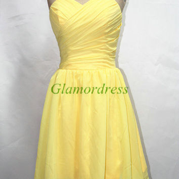 short chiffon bridesmaid dresses simple sweetheart bridesmaid gowns cheap elegant dress for wedding prom