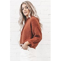 MINKPINK Fluffy Knit Crop