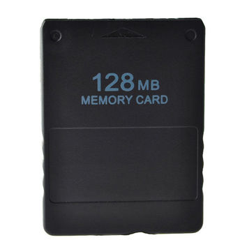 128 MB Storage Space Memory Card Save Game Data Unit Data Stick for Sony PS2 Console Video