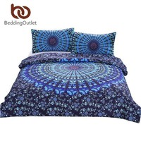 Bohemian Mandala Bedding 3 Pcs Set (25 Patterns)