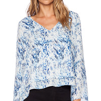 Parker Duncan Top in Blue