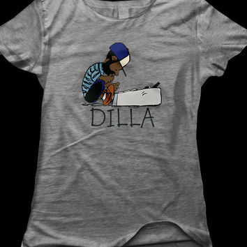 Dilla   Men and Ladies   American Apparel T-Shirt -  Available in S, M, L, XL and XXL Unisex