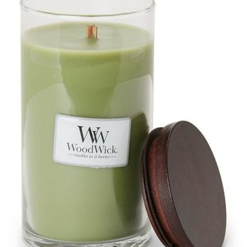 Woodwick Apple Grove 19 oz Glass Jar Candle