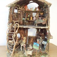 Kickstarter The Elf Artist's Cottage by Sunflowerhouse on Etsy