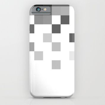 Gray Scale In Pixels  iPhone & iPod Case by ARTbyJWP