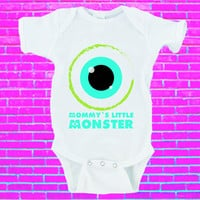 Mommy's Little Monster Gerber Onesuit ® Halloween Onesuit