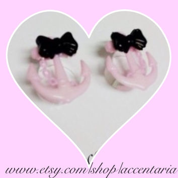 Pretty pink anchor plugs