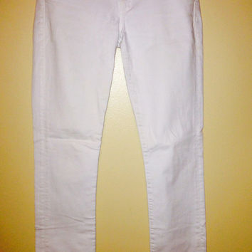 "White ""Ava"" Style Jeans (Low Rise Straight Leg)  (Citizens of Humanity)"