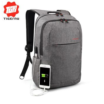 Tigernu Canvas Men's Backpack