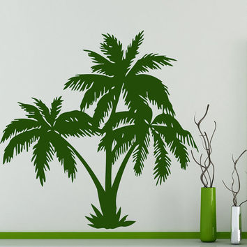 Wall Decals Palm Tree Decal Vinyl Sticker Bathroom R Kitchen Wi Art Home Decal