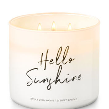 Hello Sunshine - Limoncello 3-Wick Candle | Bath And Body Works