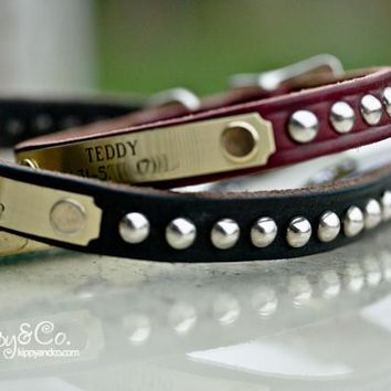 Small Dog Cone Stud Collar