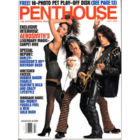 Penthouse Magazine 1993-07 Aerosmith