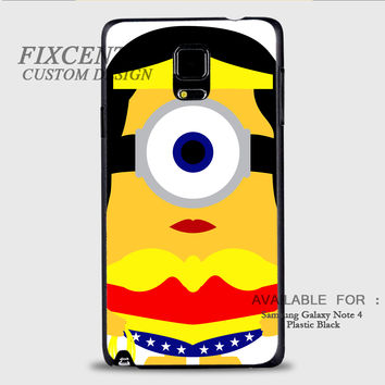 WONDER WOMAN MINION - Samsung Galaxy Note 4 Case