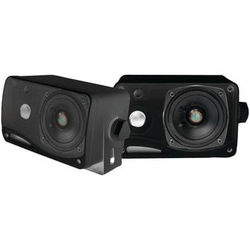 "Pyle Pro Hydra Series 3.5"" 200-watt 3-way Weatherproof Mini-box Speaker System (black)"