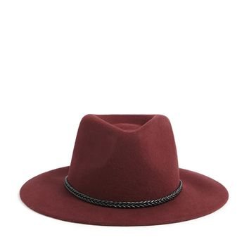 Wool Braid-Band Fedora