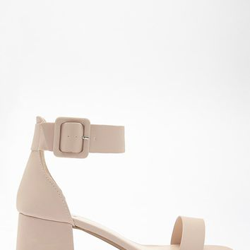 Qupid Kitten Block Heels