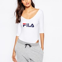 Fila 3/4 Sleeve Leotard Body With Front Logo