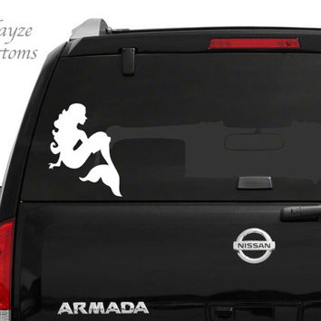 Mermaid Silhouette/ Car/Computer vinyl decal