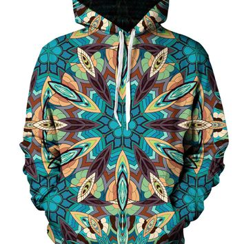 Avatar Psychedelic Tribal Mandala Pullover Hoodie
