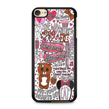 iPod Touch 4 5 6 case, iPhone 6 6s 5s 5c 4s Cases, Samsung Galaxy Case, HTC One case, Sony Xperia case, LG case, Nexus case, iPad case, Cute Ariana Grande Cases