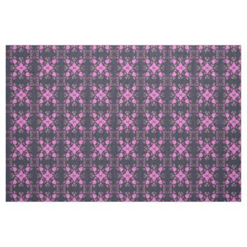 Abstract pink pattern fabric