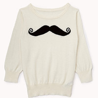 Musctache Sweater | FOREVER 21 - 2000050330