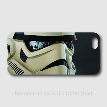 Star wars to stormtroopers Phone cases For iPhone 6 6S Plus 5S 5C 4S iPod Touch 6 5 4 For Samsung Galaxy S7 S6 Edge Pus S5 S4 S3