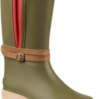 Sperry Top-Sider Shorebird Rain Boot Olive, Size 5M  Women's Shoes