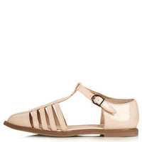 GIGGLE Geek Shoes - Nude