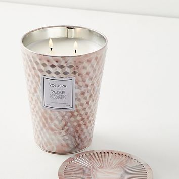 Voluspa Rose Tin Candle
