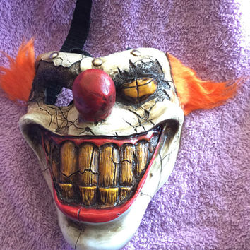 Twisted metal mask tribute fiberglass excellent quality not breaks offer great