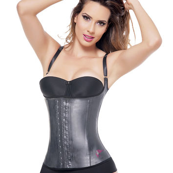 """All Latex"" Thin Adjustable Straps Vest"