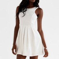 LAURANCE EMBELLISHED BOW DRESS