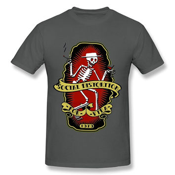 Social Distortion Dancing Skeleton Tshirt