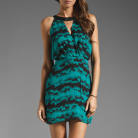 Parker Zip Wrap Dress in Faded Geo from REVOLVEclothing.com